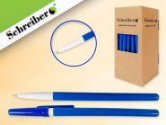 Ручка шариковая, 0,7 мм, цвет чернил - СИНИЙ (Россия) (арт. S 0079)
