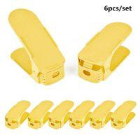 Двойная подставка для хранения обуви Shoe Slots, 6 шт, цвет желтый
