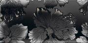 """Валькирия Декор Антрацит """"Цветы"""" 40,5х20,1"""
