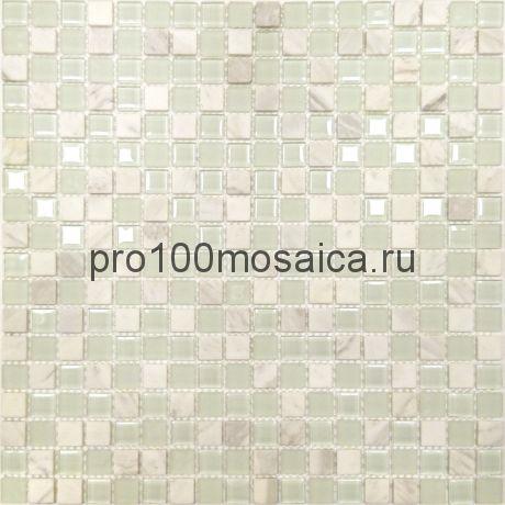 Мозаика Naturelle - Mont Blanc 30,5x30,5х0,4 см (чип 15х15х4 мм)