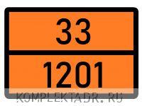 Табличка 33-1201