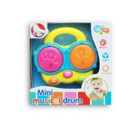 "Музыкальная игрушка БАРАБАН ""БУМ БУМ"" (свет. звук) (арт. 200031427)"