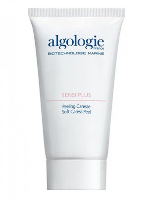 Крем-пилинг мягкий для чувствительной кожи Algologie, 75 мл.