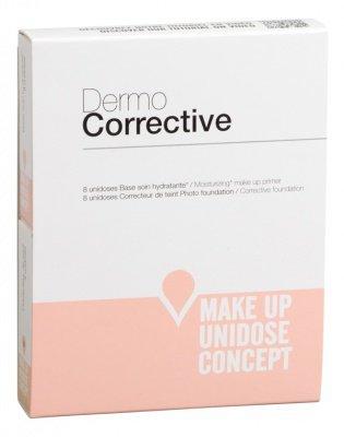 Набор увлажняющая крем-база/тональный корректор оттенка Natural tan №07, Dermo Corrective duo