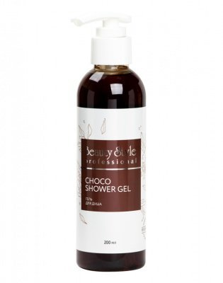 "Гель для душа ""Choco shower gel"" Beauty Style, 200 мл."