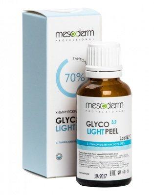 Глико Лайт Пил (Гликолевая кислота 70% Ph 3,2) 30 мл, MESODERM