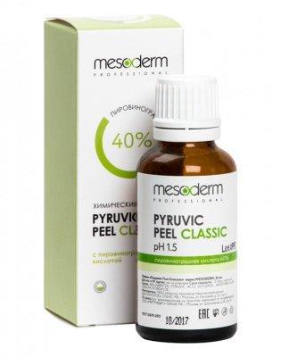Пирувик Пил Классик (Пировиноградная кислота 40%, Ph1,5) 25 мл, MESODERM