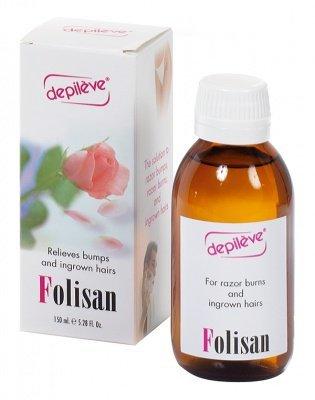 Лосьон против вросших волос FOLISAN, 150 мл. Depileve