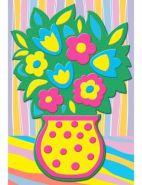 3Д АППЛИКАЦИЯ. Формат А5. Цветы (арт. М-7631)
