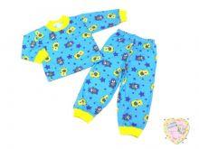 """Пижама универсальная для мальчика и девочки код 01814-1 C-PJ023-SU """"Мамин Малыш"""" оптом"""