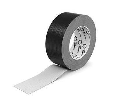 Лента армированная Energoflex 48х50, черная самоклеющаяся