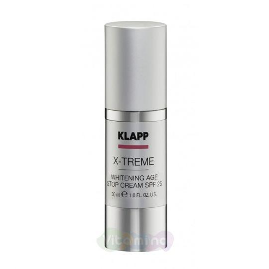 Klapp Дневной защитный крем против пигментных пятен X-Treme Whitening Age Stop SPF25, 30 мл