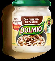Соус Долмио со сливками и грибами 200г