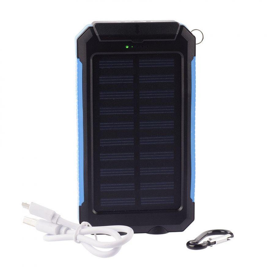 Power Bank на солнечных батареях Universal A80 20000 mAh