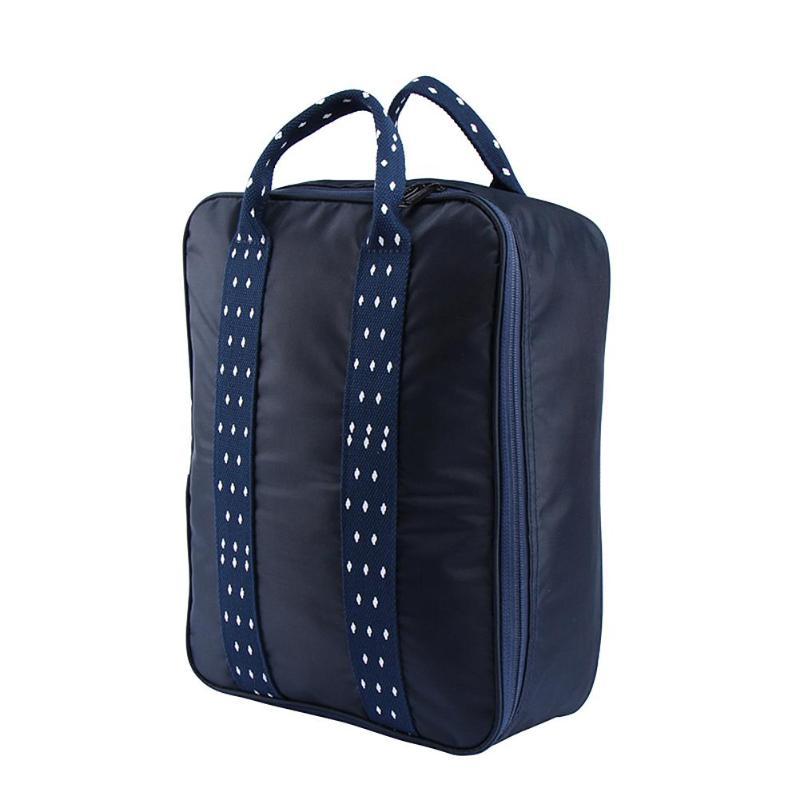 Складная дорожная сумка для путешествий с плечевым ремнём, цвет синий
