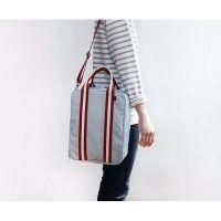 Складная дорожная сумка для путешествий с плечевым ремнём, цвет серый (6)