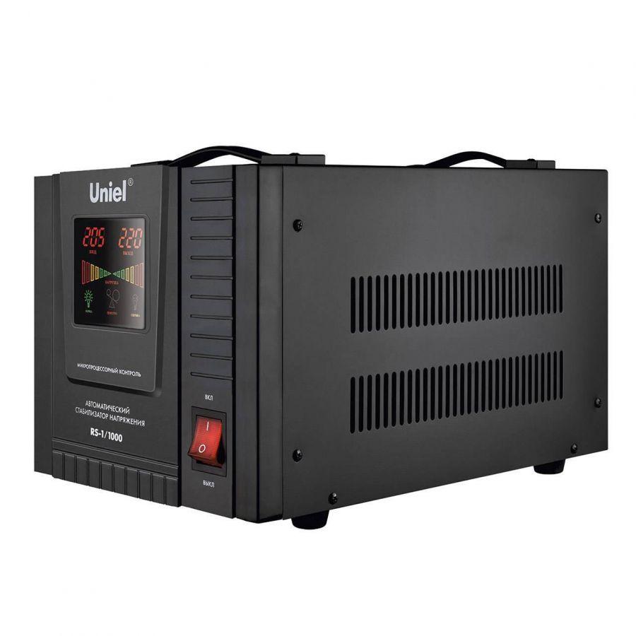 Стабилизатор напряжения Uniel (03108) 1000ВА RS-1/1000