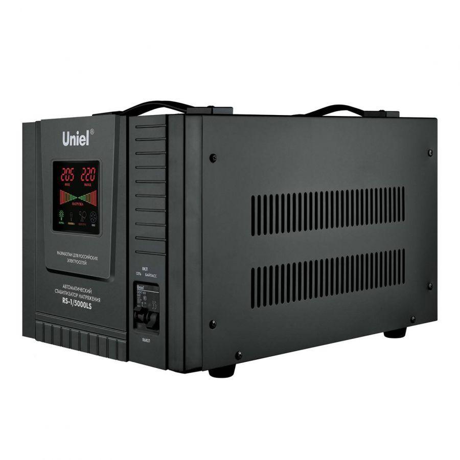 Стабилизатор напряжения Uniel (09501) 5000ВА RS-1/5000LS