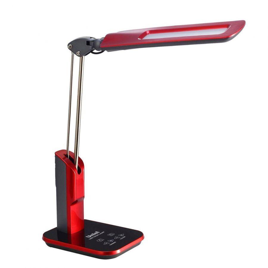 Настольная лампа (09104) Uniel TLD-515 Red/LED/900Lm/2700-6400K/Dimmer