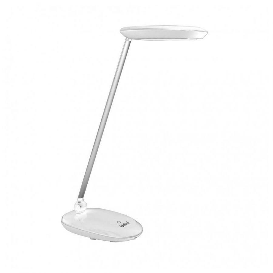 Настольная лампа (UL-00000805) Uniel TLD-531 White/LED/400Lm/4500K/Dimmer