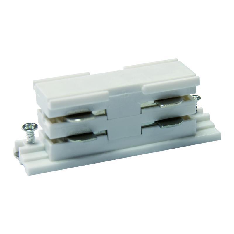 Соединитель для шинопроводов прямой внутренний (09741) Uniel UBX-A11 White