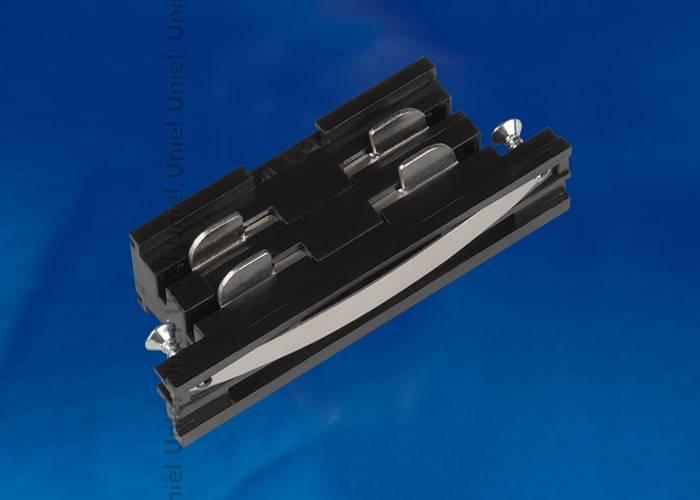 Соединитель для шинопроводов прямой внутренний (09742) Uniel UBX-A11 Black
