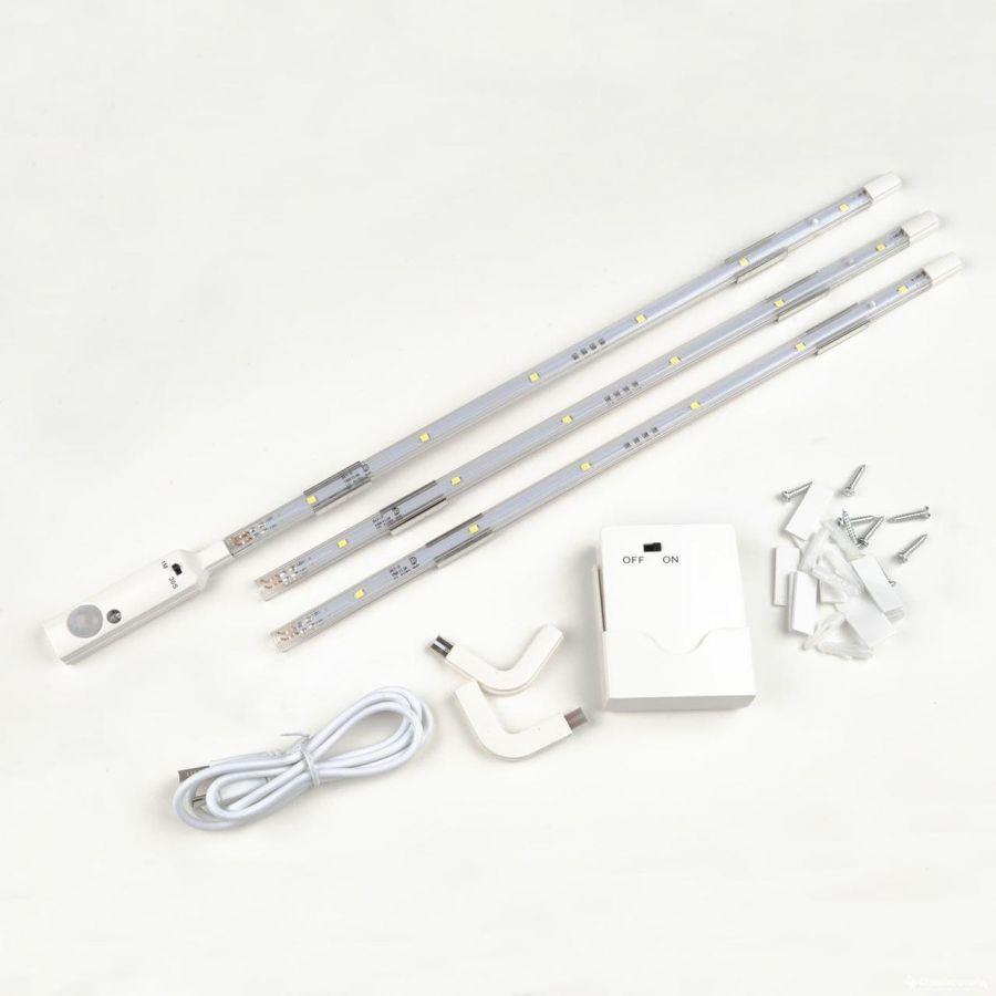 Мебельный светодиодный светильник (UL-00002889) Uniel ULM-F42-3W/4200K Sensor IP20 White