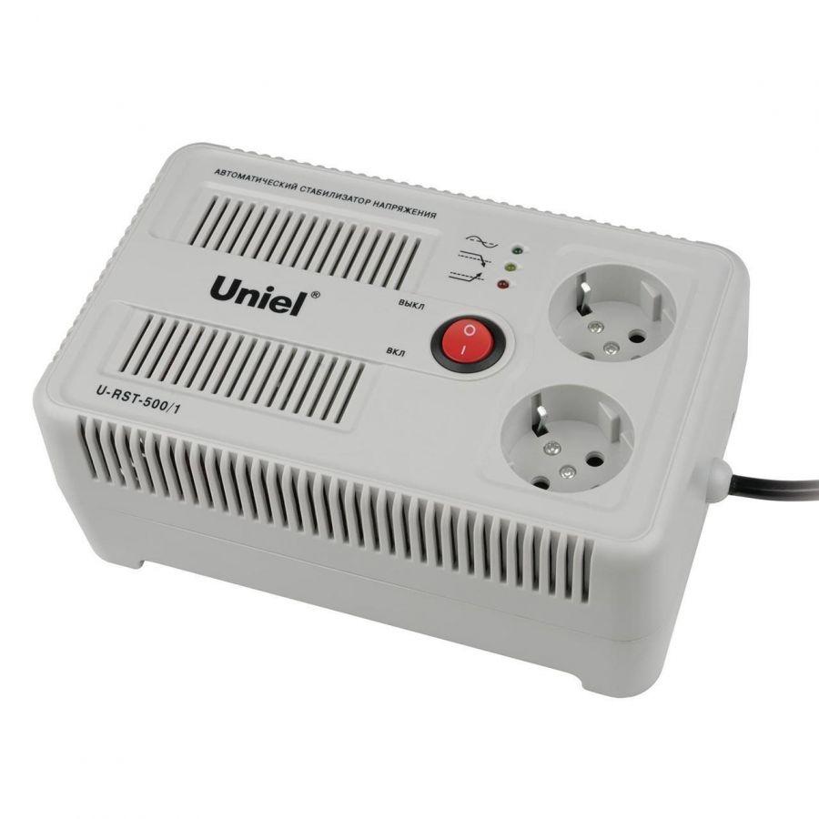 Стабилизатор напряжения Uniel (UL-00003602) 500ВА U-RST-500/1