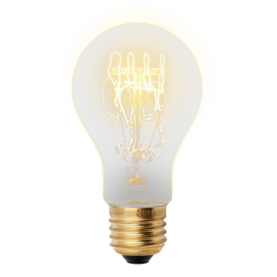 Лампа накаливания (UL-00000476) Uniel E27 60W золотистая IL-V-A60-60/GOLDEN/E27 SW01