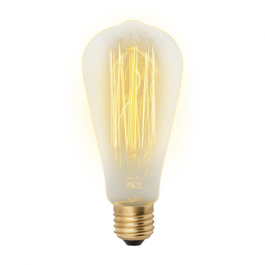Лампа накаливания (UL-00000482) Uniel E27 60W золотистая IL-V-ST64-60/GOLDEN/E27 VW02