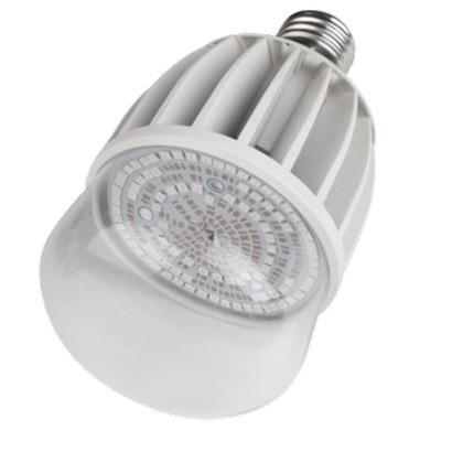 Лампа светодиодная для растений (11098) Uniel E27 20W 650K прозрачная LED-M80-20W/SP/E27/CL
