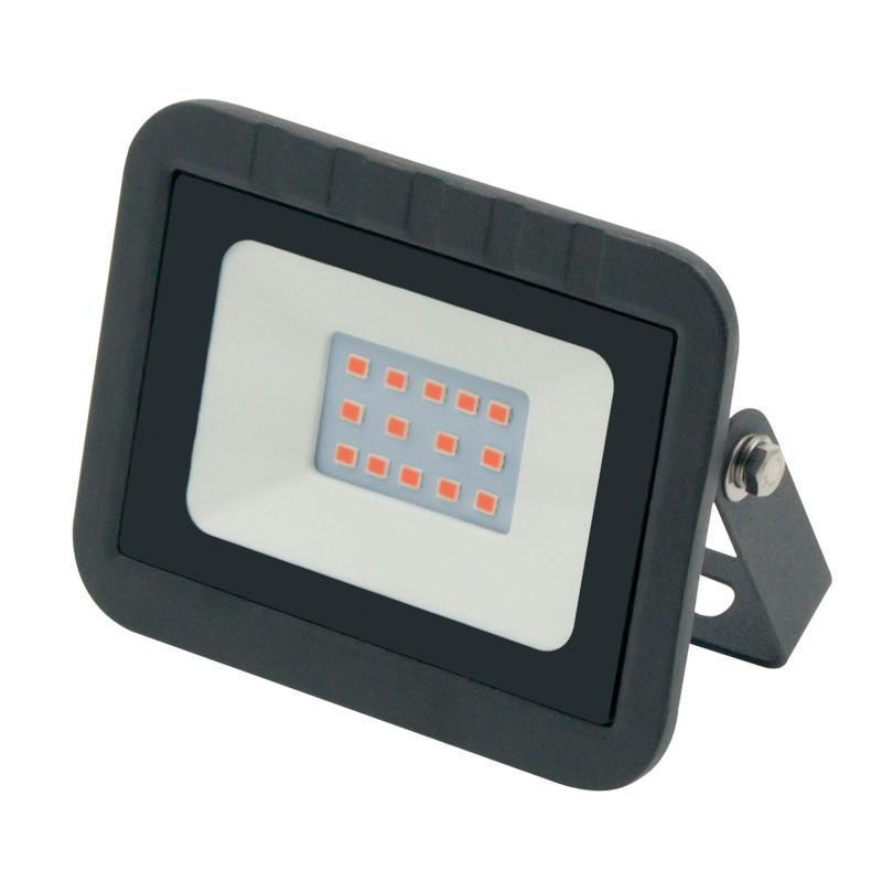 Прожектор светодиодный (UL-00002559) Volpe 10W ULF-Q511 10W/Red IP65 220-240В Black