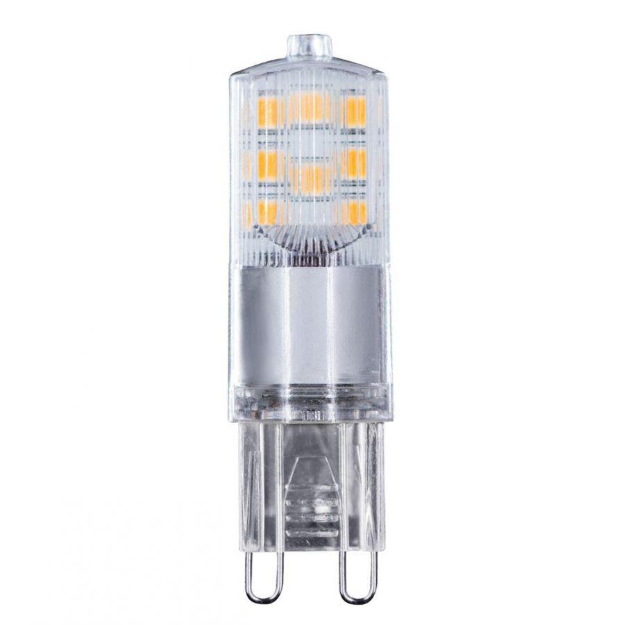 Лампа светодиодная Voltega G9 4W 2800К прозрачная VG9-K2G9warm4W 7124