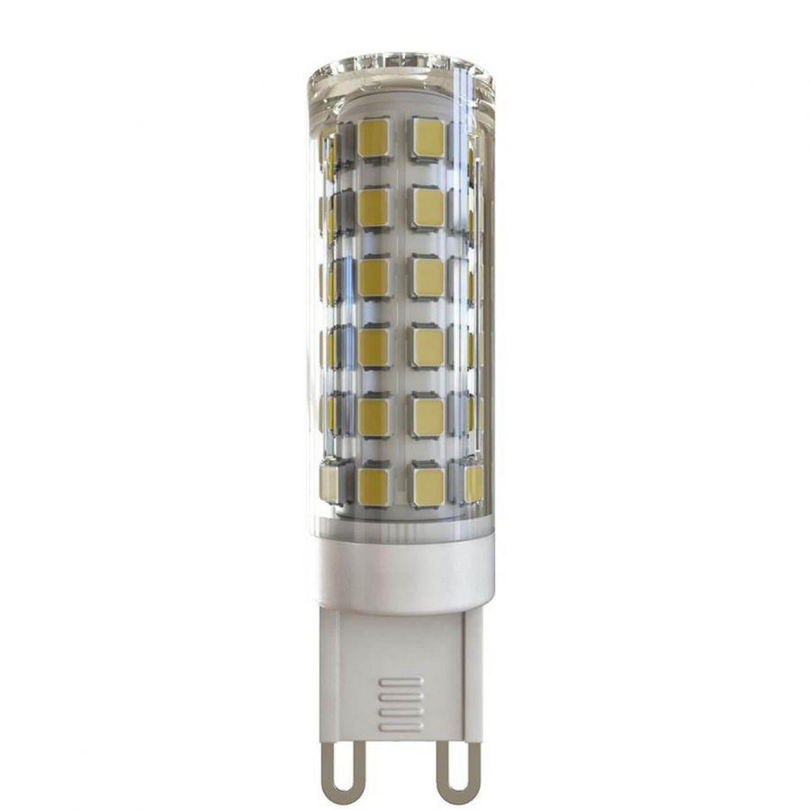 Лампа светодиодная G9 10W 4000К прозрачная VG9-K1G9cold10W 7039