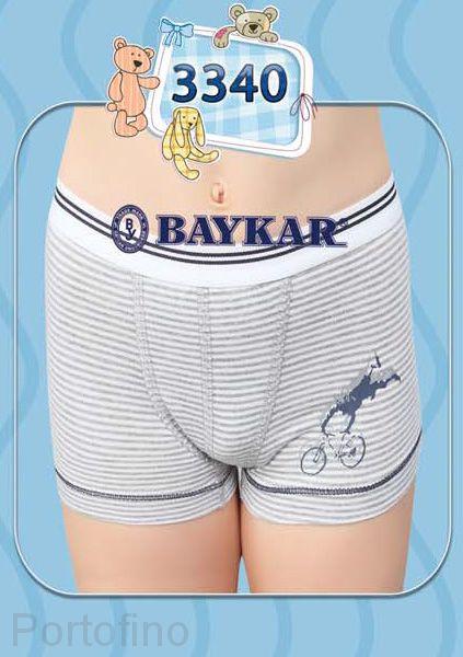 3340 Боксеры для мальчика Baykar
