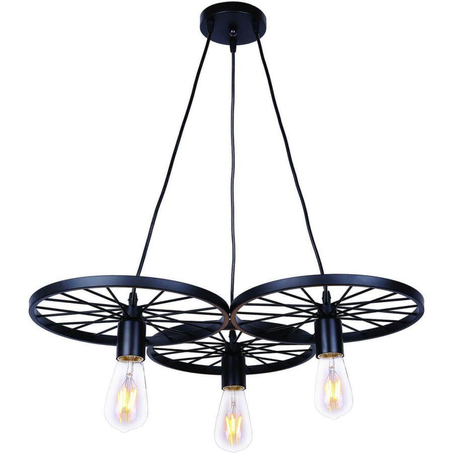 Подвесной светильник Toplight Vanessa TL1201H-03BK