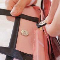Дорожная косметичка со съёмным отделением Travel Bag, цвет Чёрно-розовый (5)