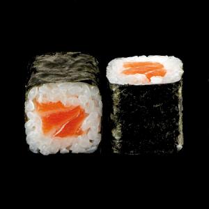 Маки ролл с лососем и сливочным сыром 220г