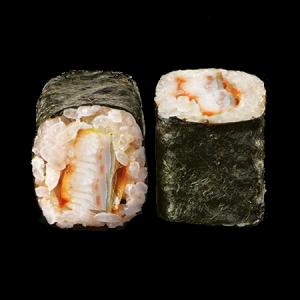 Маки ролл с угрём и сливочным сыром 220г