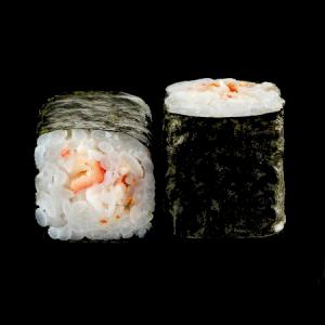 Маки ролл с креветкой и сливочным сыром 220г
