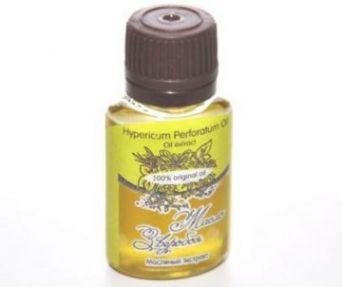 Масло ЗВЕРОБОЯ экстракт/ Hypericum Perforatum Oil Unrefined / нерафинированное, 20 ml