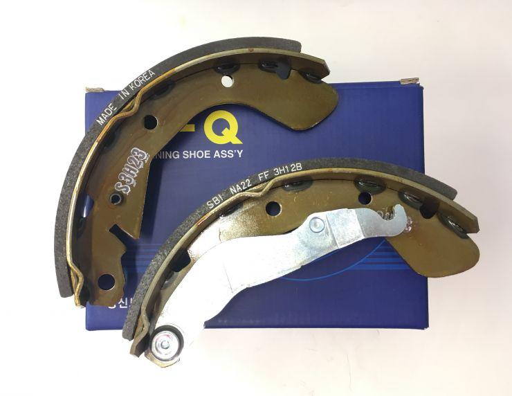 Колодки тормозные задние барабанные к-т SA055 HI-Q