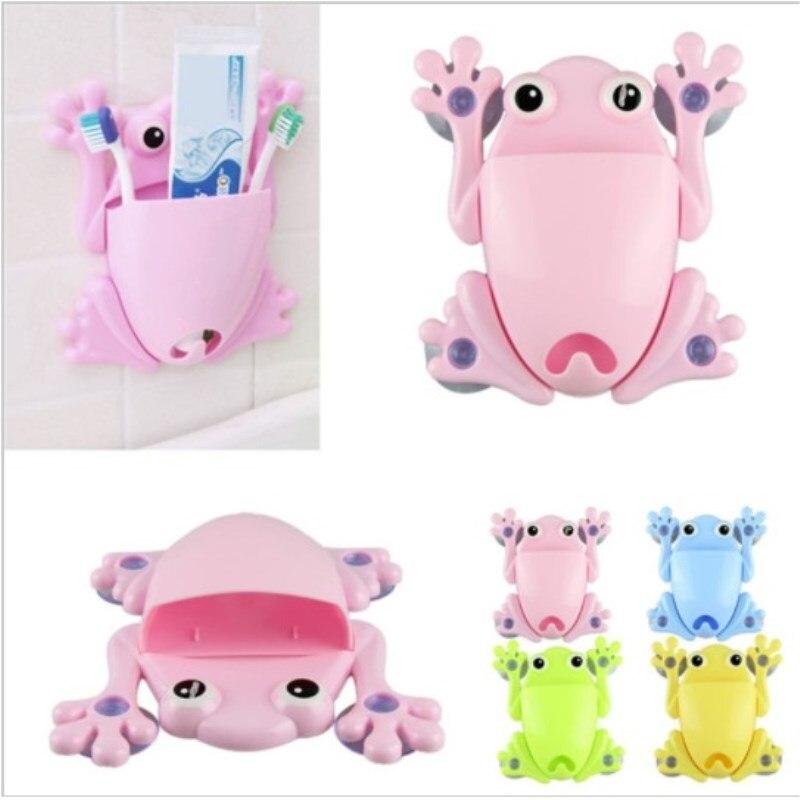Органайзер для ванной Лягушка, цвет розовый