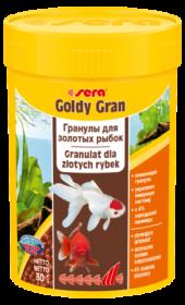 SERA Голди Гран Основной корм для золотых рыбок (гранулы) (250мл)