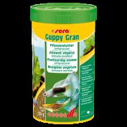 SERA Гуппи Гран Корм для гуппи и других живородящих рыб (250 мл)