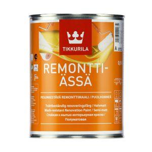 Износостойкая краска для стен и потолков Remontti-Assa