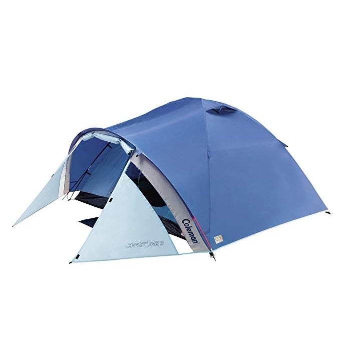 Палатка туристическая 3 местная с тамбуром Coleman (Колеман) Crestline (202577)