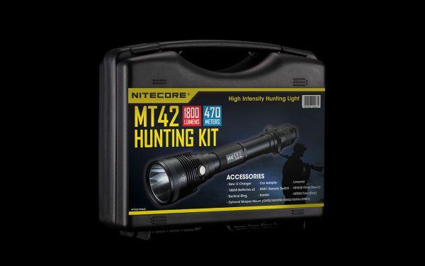 Набор для охоты с фонарем Nitecore MT42