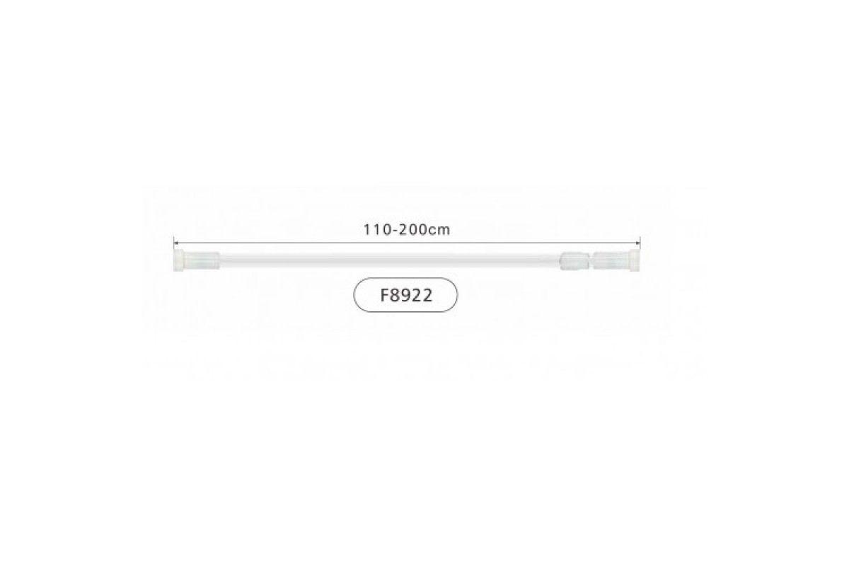 Frap F8922 110*200 см Карниз для ванной