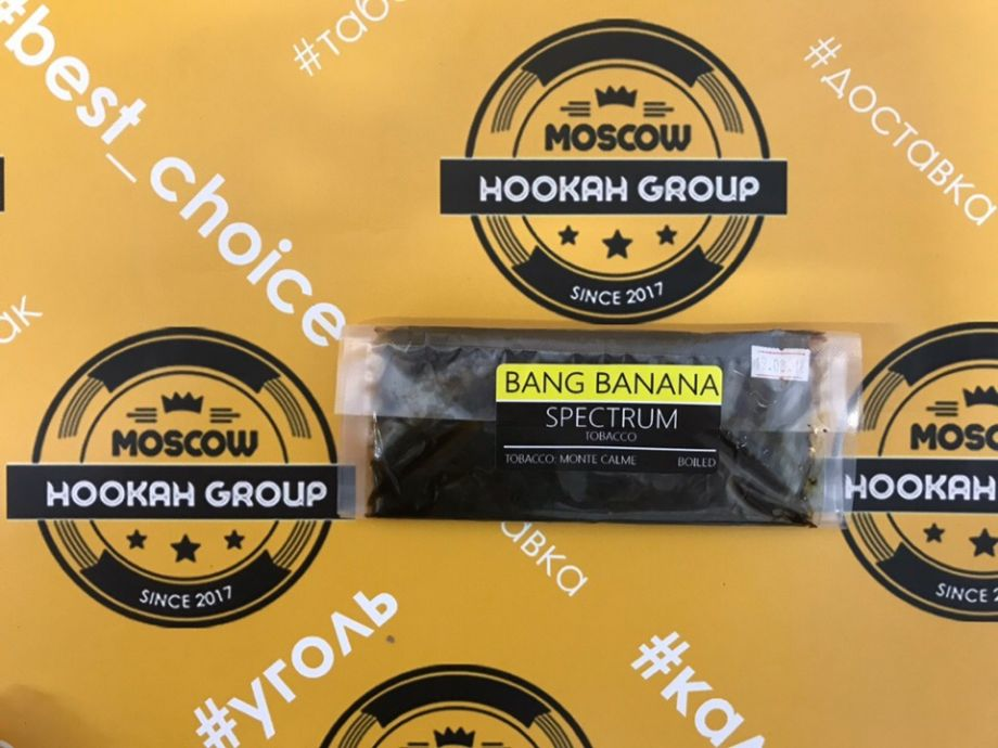 Табак Spectrum Bang Banana 100 г